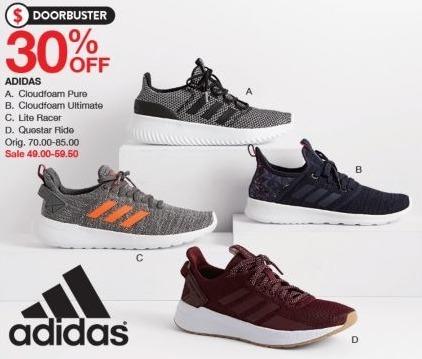 newest bb2c2 9cee4 Belk Black Friday Adidas Cloudfoam Ultimate - 30% Off
