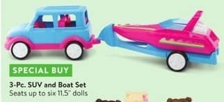 Walmart Black Friday: 3-Pc  SUV and Boat Set for $10 00 - Slickdeals net