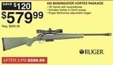 Dunhams Sports Black Friday: 450 Bushmaster Vortex Package