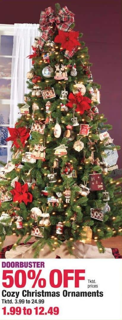 boscovs black friday cozy christmas ornaments 50 off