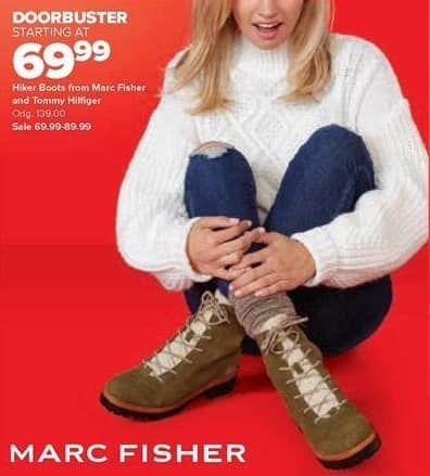 Belk Black Friday Hiker Boots From Marc Fisher And Tommy Belk Tommy Hilfiger Boots Shoes