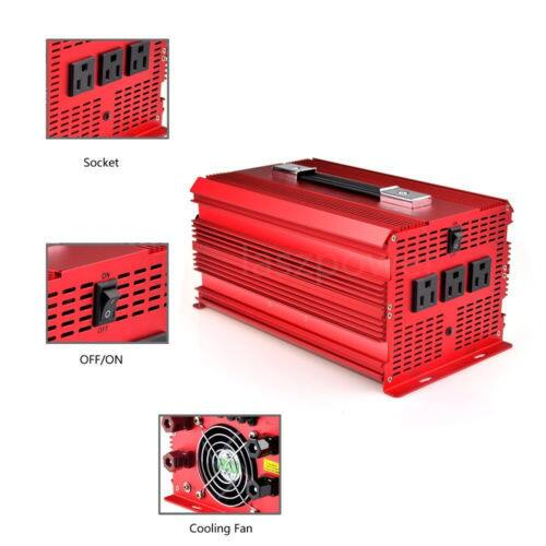 BESTEK 2000W/4600 Watt Power Inverter Charger Supply $130.88