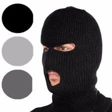 Winter Knit Ski Masks with Added Neck Protection