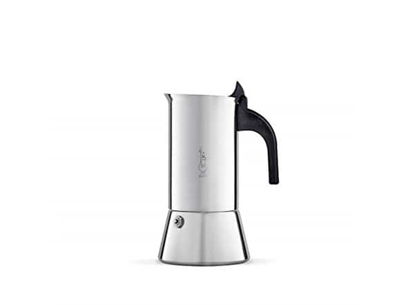 Bialetti Stove top Coffee Maker, Venus, 6-Cup, Stainless Steel $16