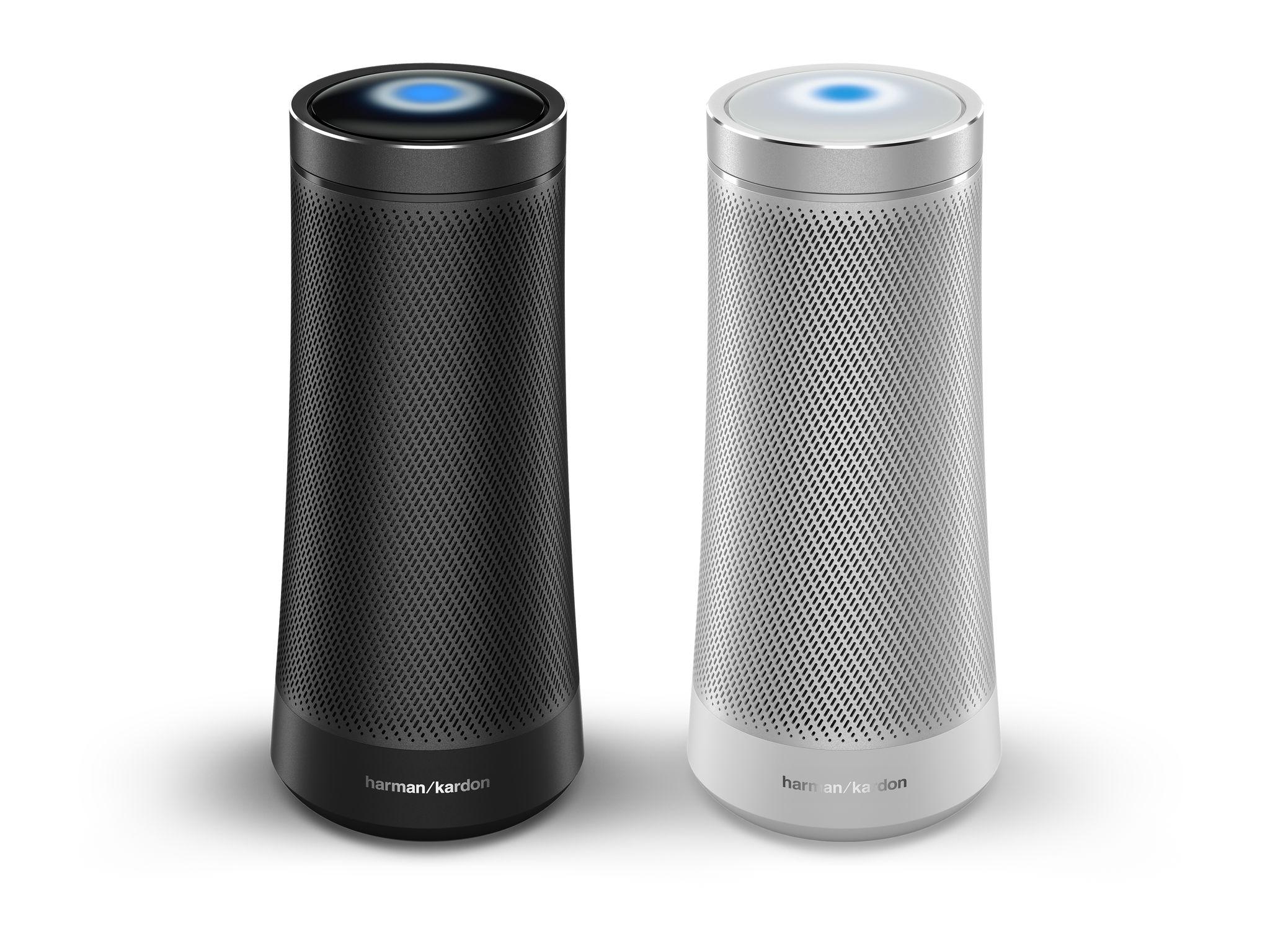 Harman Kardon Invoke Smart Bluetooth Speaker w/ Cortana (Graphite or Silver) (Refurb) $39.99
