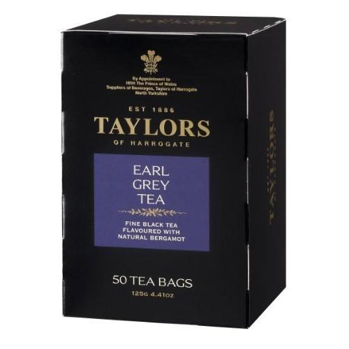 Add-on Item: 50-Count Taylors of Harrogate Tea Bags (Earl Grey) $4.94
