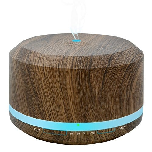 Woodgrain Oil Diffuser-Lightning deal+Coupon+Free Shipping $11.99