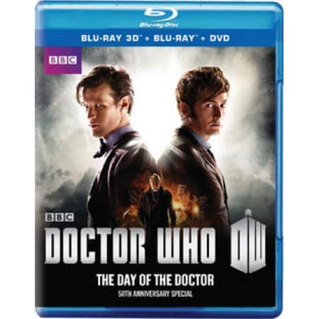 Doctor Who 50th Anniversary Special 3D/BR/DVD $5 Walmart In Store YMMV