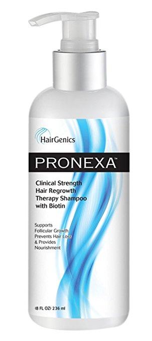 HairGenics Pronexa Clinical Strength Hair Regrowth Therapy Shampoo With Biotin, 8 Fl.Oz