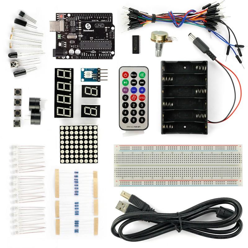 Arduino UNO R3 Basic Starter Kit- $19 + Free Shipping