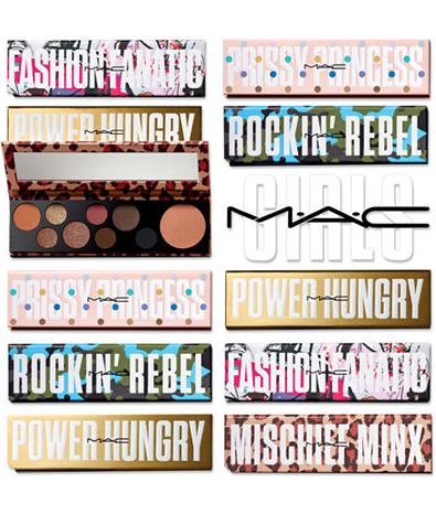 M·A·C GIRLS: Six palettes $39.50 each ($160 Value)