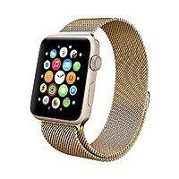 Apple Watch Band , Swees 38mm Milanese Loop Stainless Steel Bracelet Strap Replacement Wrist Band (Gold) $  4.99 AC @Amazon