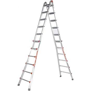 Little Giant Ladder Systems 12026-801 Revolution M26 (26') with Ratcheting Levelers $389.27 @ Amazon