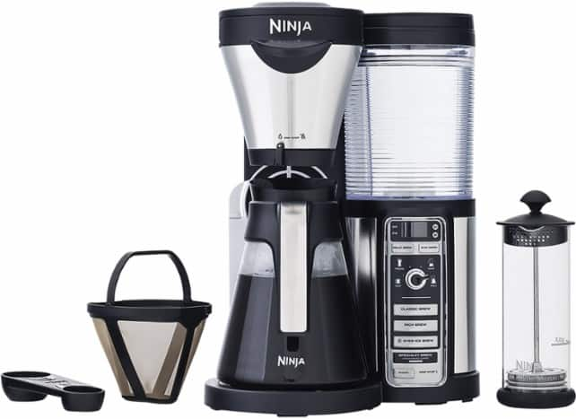Ninja - USD 149.99 Coffee Bar Brewer with Glass Carafe - Stainless Steel/Black - Slickdeals.net