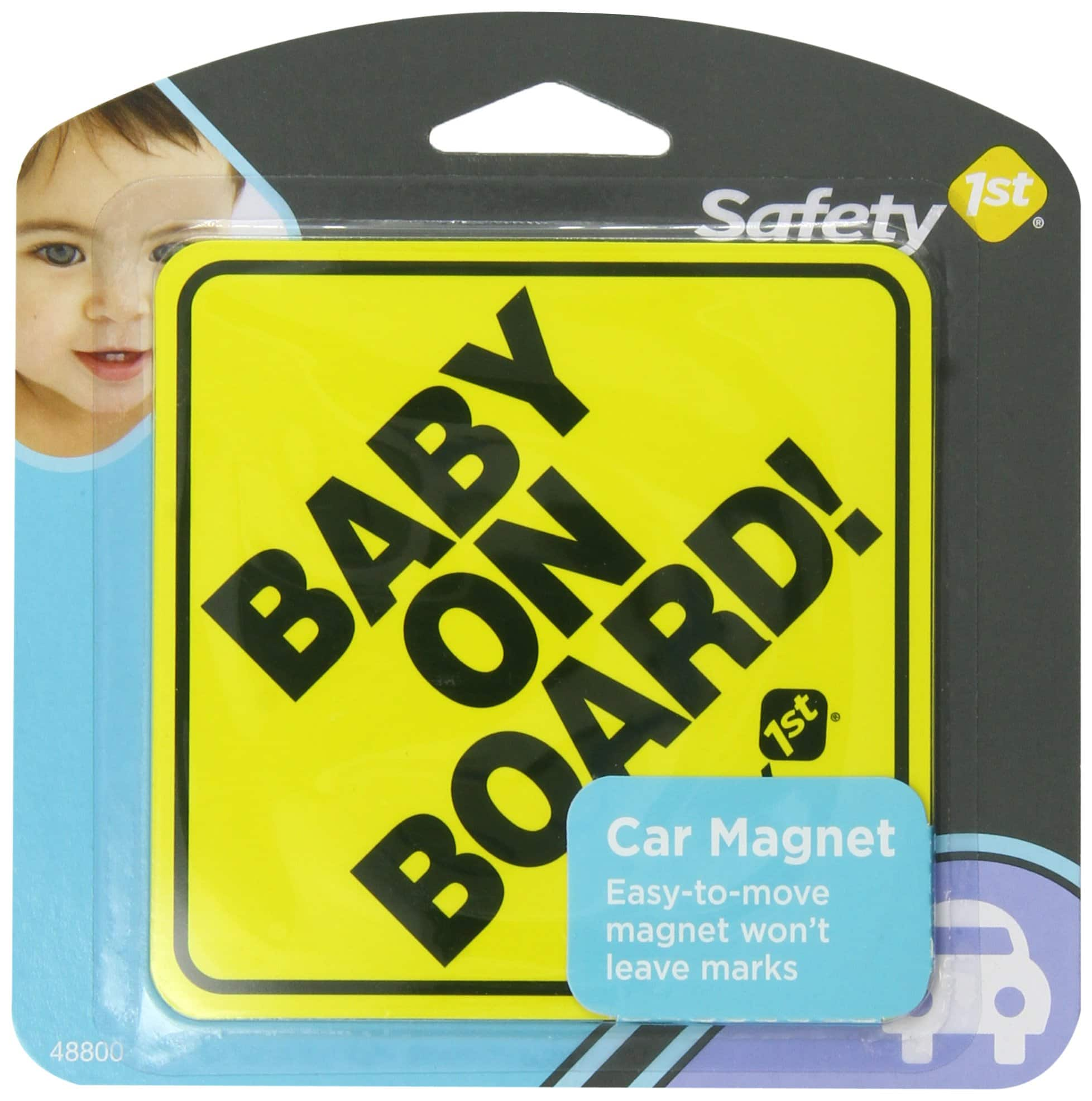 Safety 1st Baby On Board Sign Magnet - $1.99