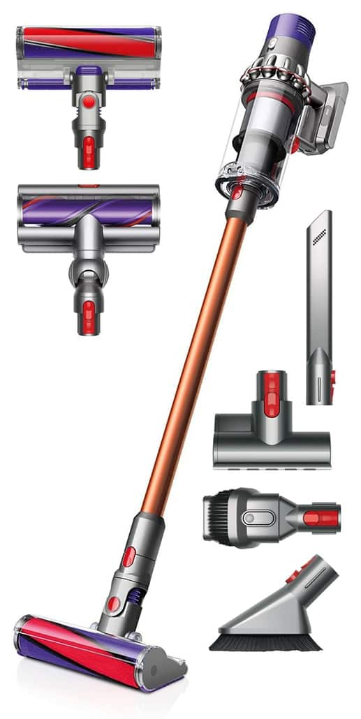 dyson cyclone v10 absolute copper floor dok tool bag. Black Bedroom Furniture Sets. Home Design Ideas