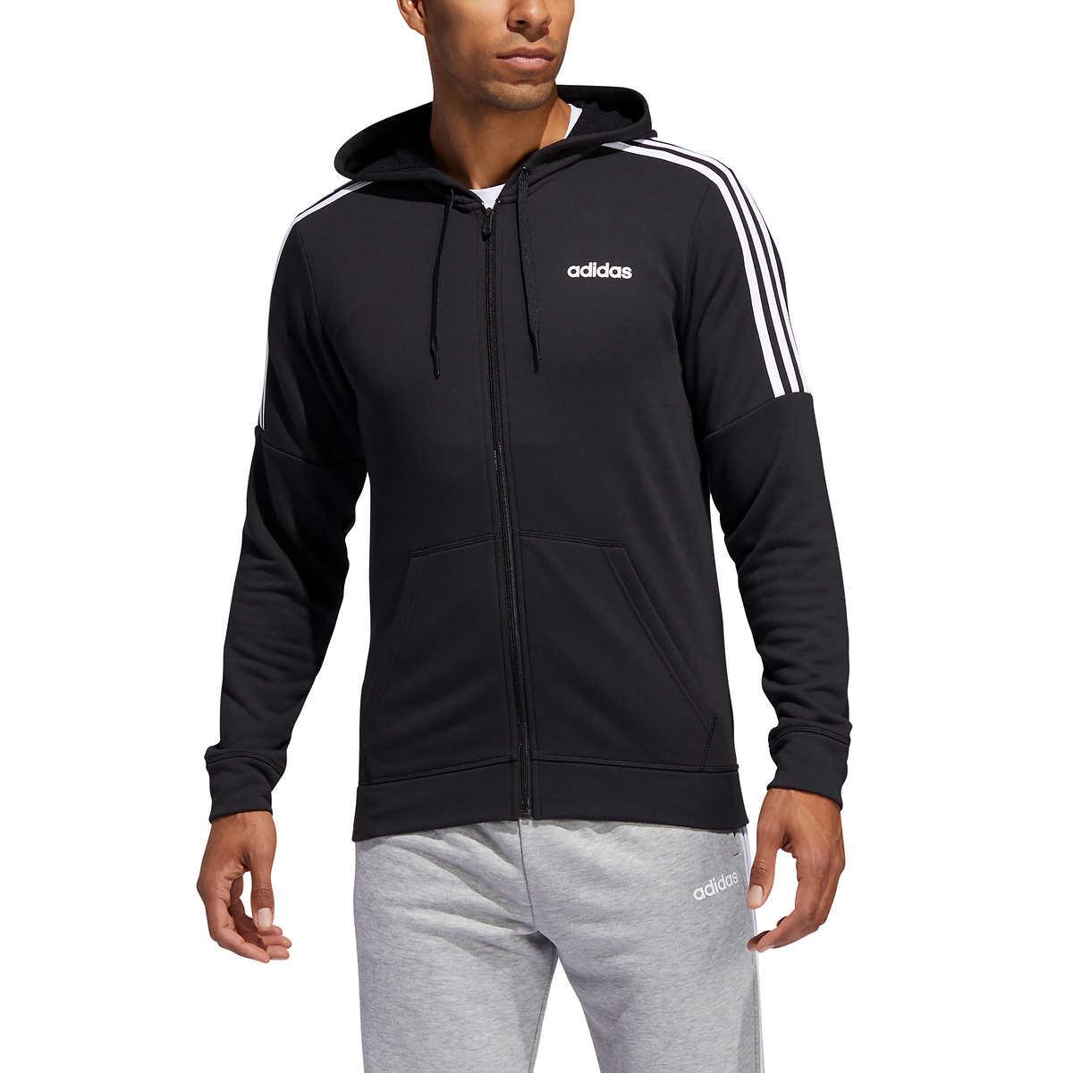 Adidas Men's French Terry Full Zip Sweatshirt for $14.97 + Free Shipping