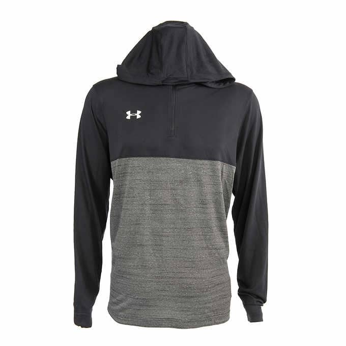 Under Armour Men's Tech Quarter Zip Hoodie $19.97 Shipping & Handling Included*