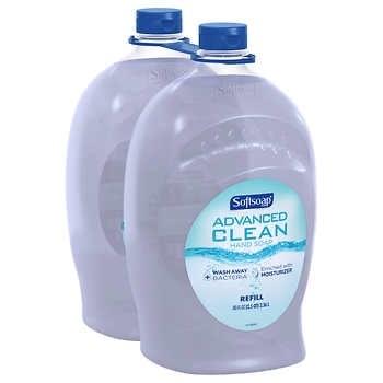 Softsoap Advanced Clean Hand Soap 80 fl. oz., 2-pack - $8