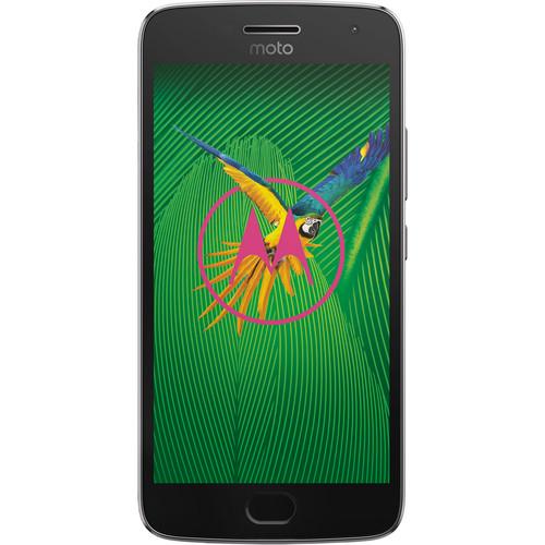 Motorola Moto G5 Plus with 64GB Memory - Lunar Gray for $225