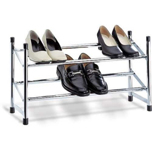Neu Home Expandable Shoe Rack $13