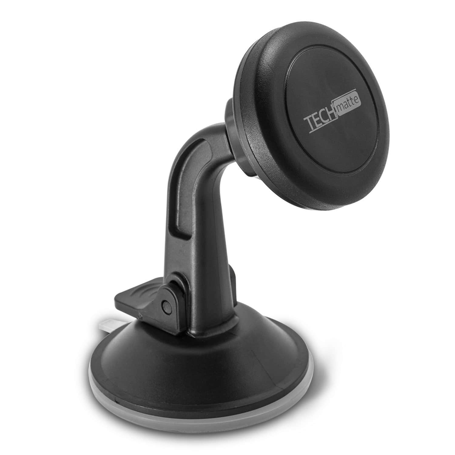 TechMatte MagGrip Dashboard and Windshield Magnetic Universal Car Mount Holder for Smartphones including iPhone X, 8, 7, 6, 6S, Galaxy S8, S7, S7 Edge $7.99