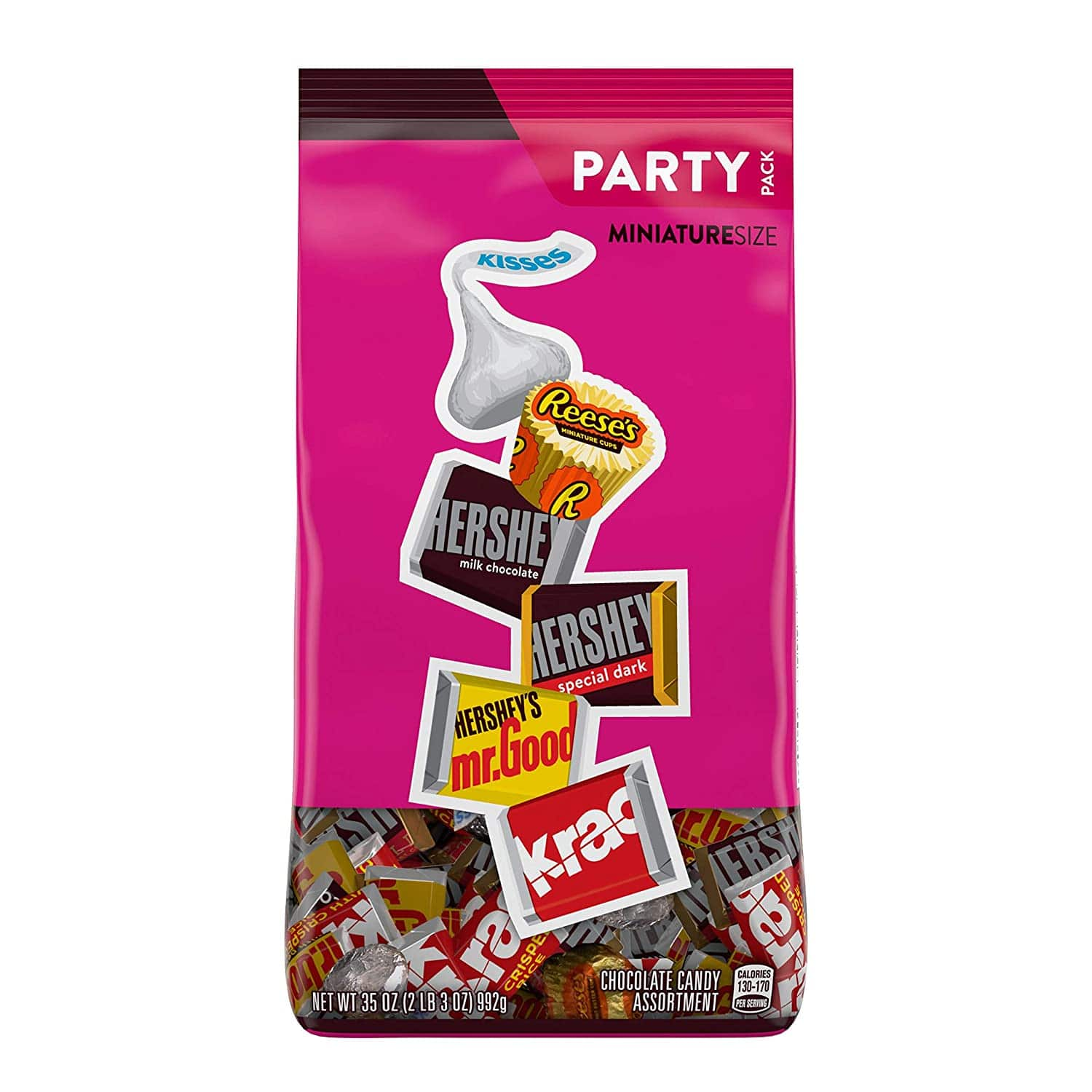 35 oz Hershey's chocolate Halloween candy assortment $6.30 after coupon