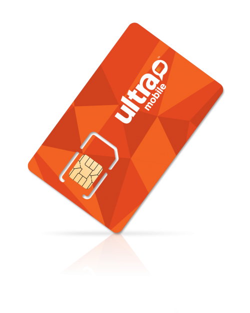 ULTRA MOBILE: 3GB/MO Unlimited Talk/Text 4G LTE & SIM KIT 6-Month Plan + 6 Mo. Free $126
