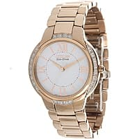Shnoop Deal: Citizen Ciena rose gold watch Rose-gold, diamond accent, eco-drive $90