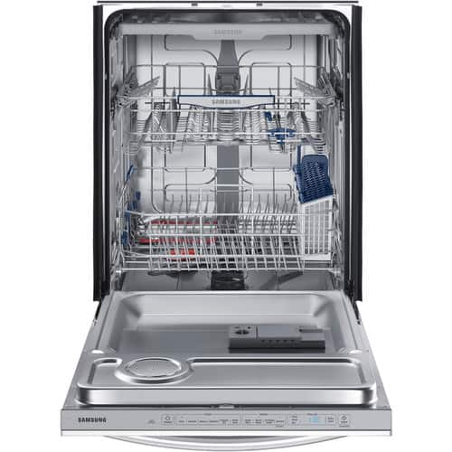 YMMV 50 % off Samsung StormWash 44-Decibel Built-In Dishwasher (Stainless Steel) $399.5
