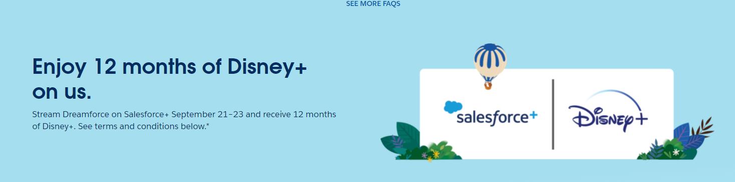 Disney+ 1 year free membership  (details inside)