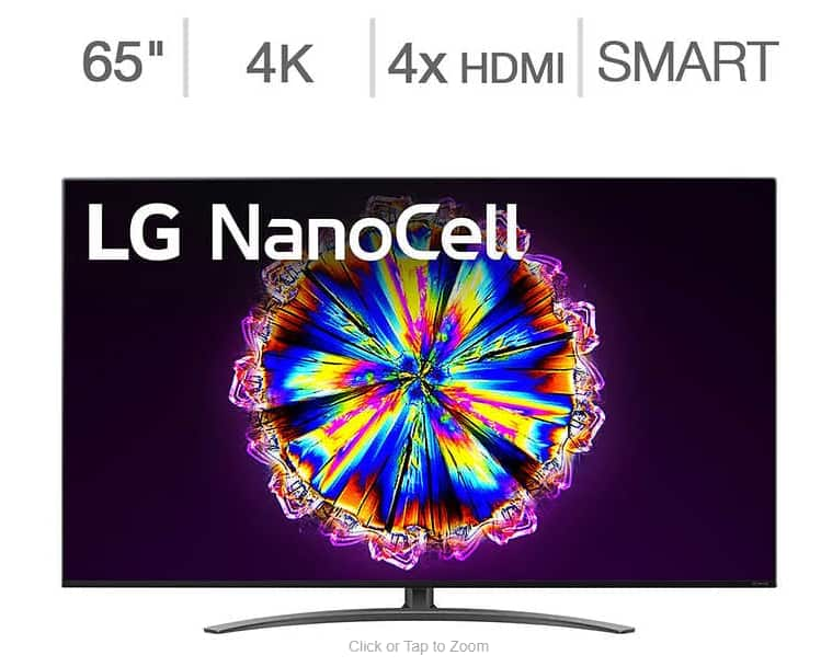 """LG 65"""" NANO91 Series with Allstate Protection Plan $950"""