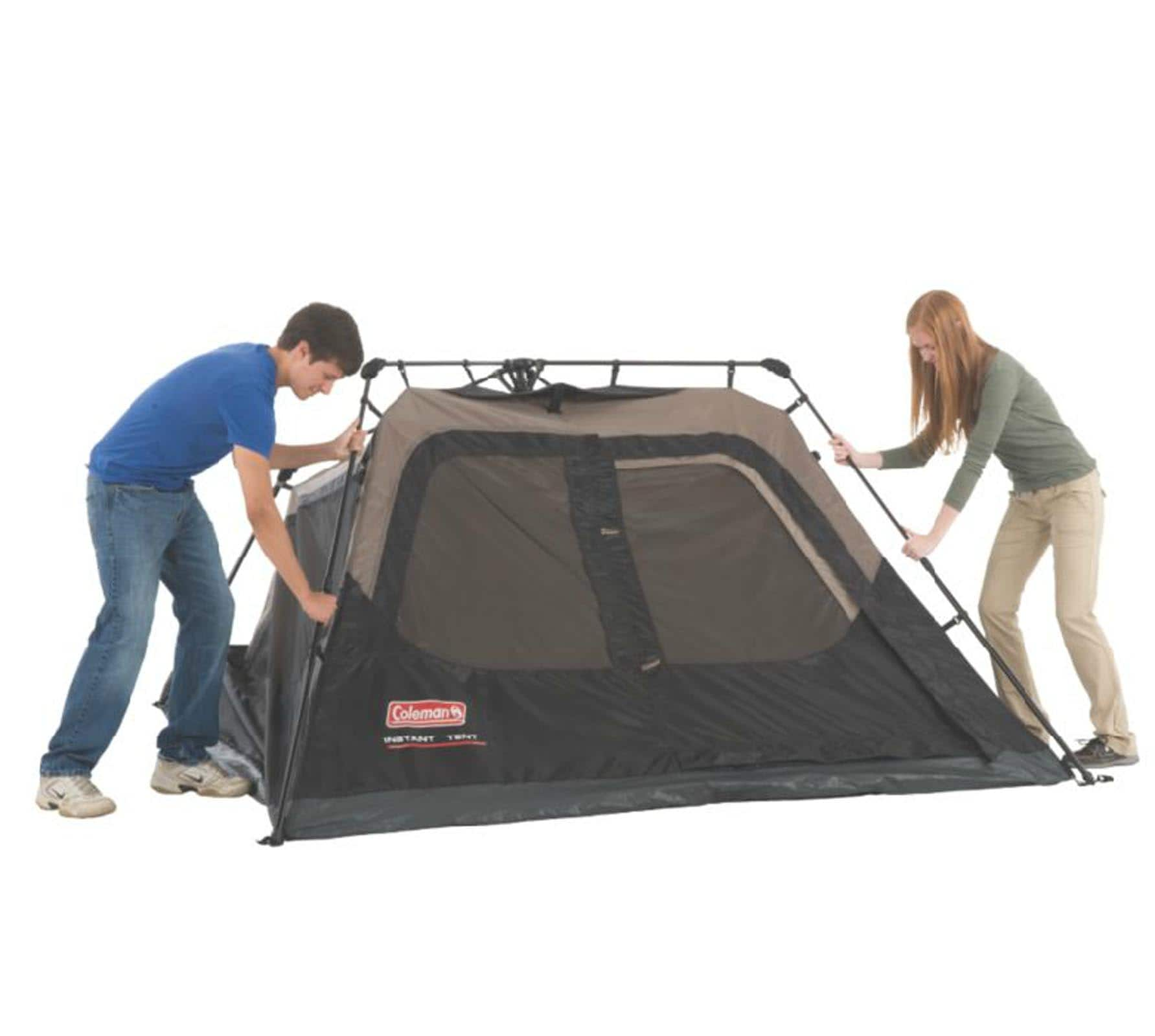 Coleman Instant Set-Up 4-Person Tent, 8' x 7' - $76.05