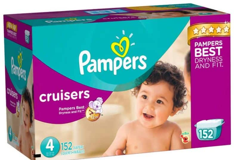 Pampers Cruisers Size 4 / 152 count for $20.52 + tax  after 20% off GE coupon - Need to add fillers or buy 2 to get free shipping