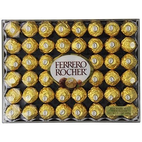 Ferrero Rocher Hazelnut Chocolates, 48 Count, $12.49