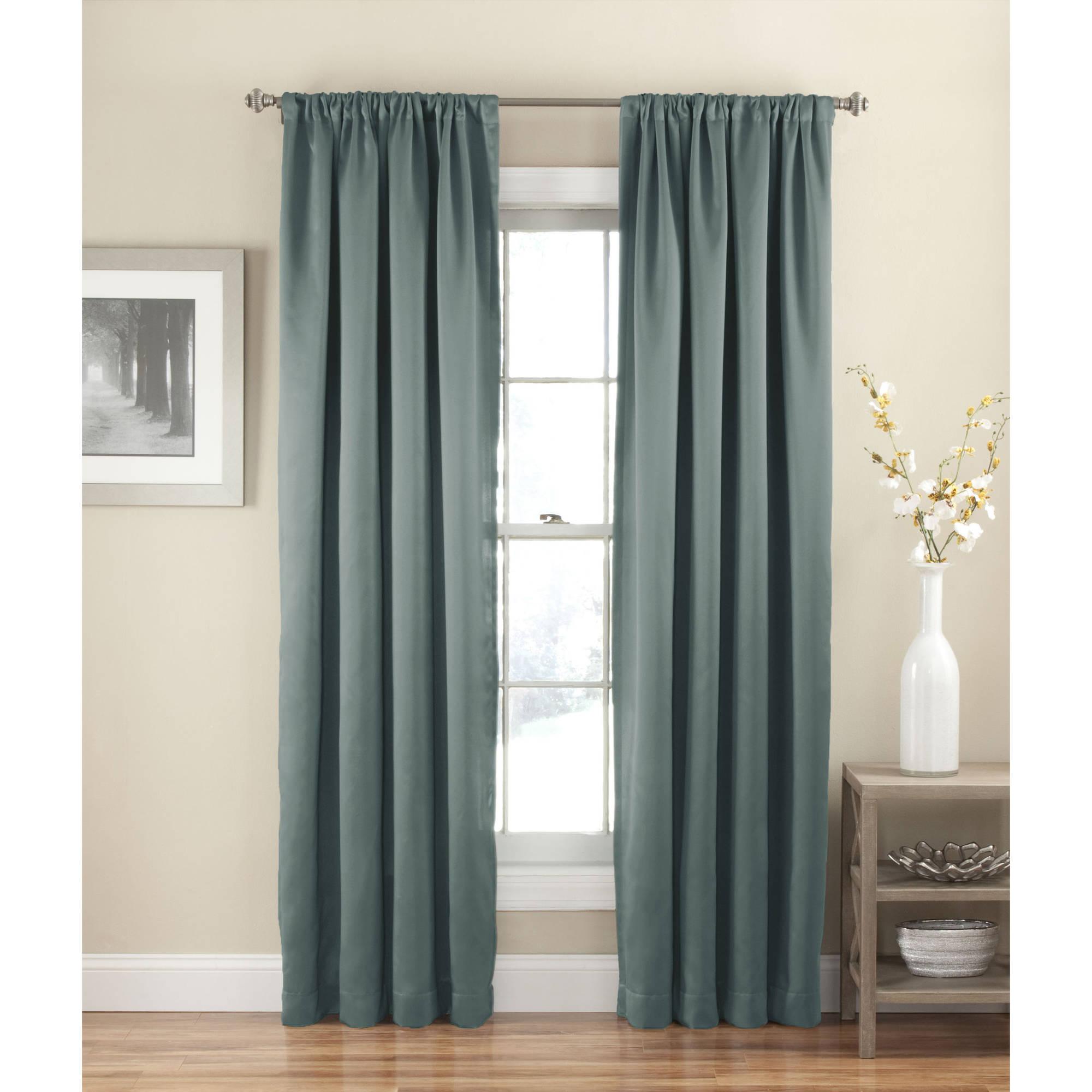 Eclipse Solid Thermapanel Room-Darkening Curtain (3 Colors) $5 @Walmart