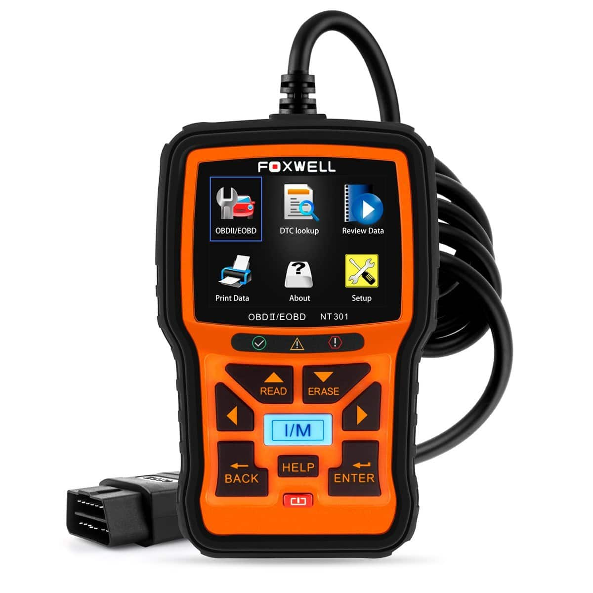 FOXWELL NT301 Car Obd2 Code Scanner $55.99 + Free Shipping @Amazon