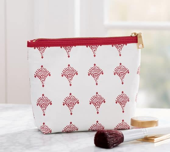 Monogrammed Cosmetic Pouch $8, Guest Towels $5 shipped - Pottery Barn