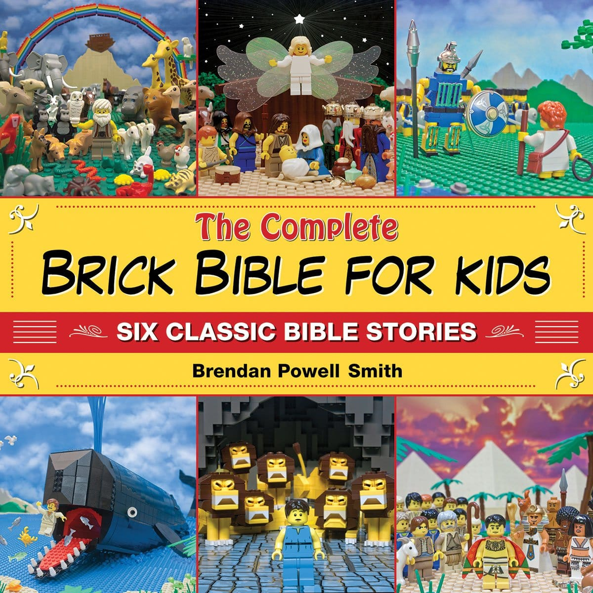 The Complete Brick Bible for Kids (Lego Bible Stories) - $8