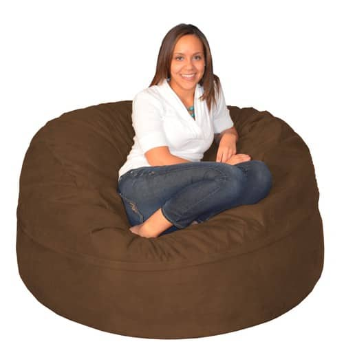 Phenomenal Porch Den Green Bridge Large Memory Foam Bean Bag 5 Foot Dailytribune Chair Design For Home Dailytribuneorg