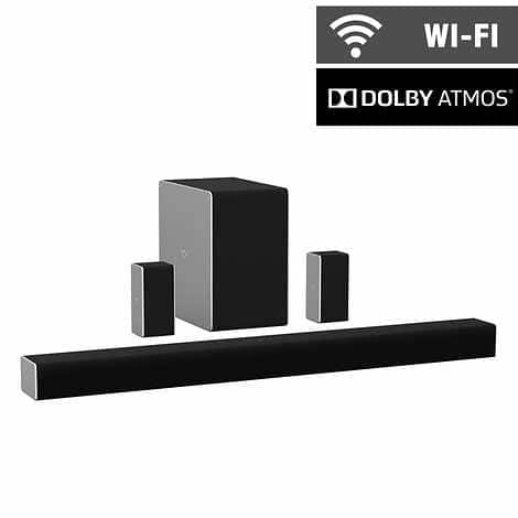 """VIZIO SB36514-G6 36"""" 5.1.4 Channel Home Theater Sound System and Wireless Subwoofer with Dolby Atmos $349.99 at Costco"""