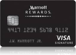 Marriot Rewards Signature Visa 70,000 points for spending 1000 in first 3 months