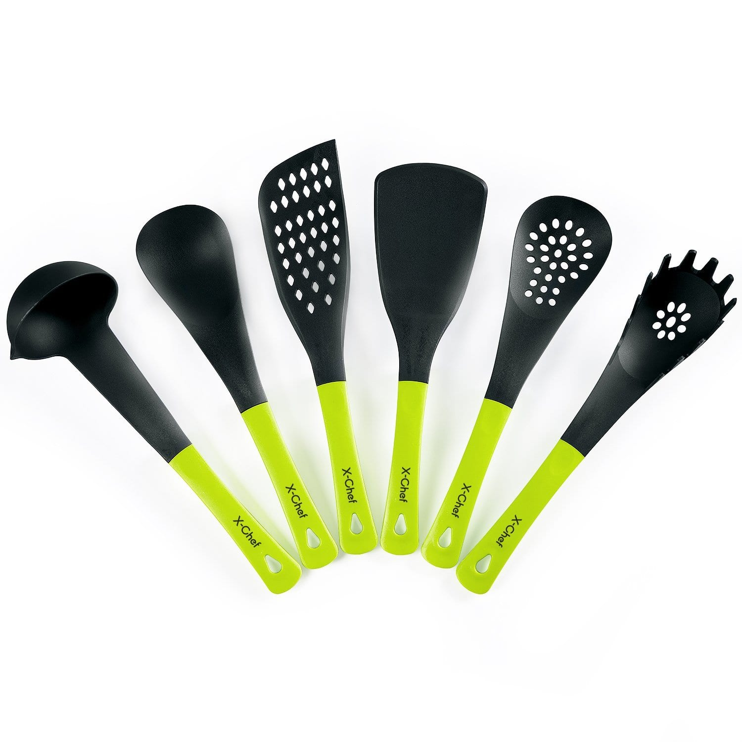 6-Piece Non-stick Kitchen Cooking Tool Set for $3.99 AC  for amazon prime members