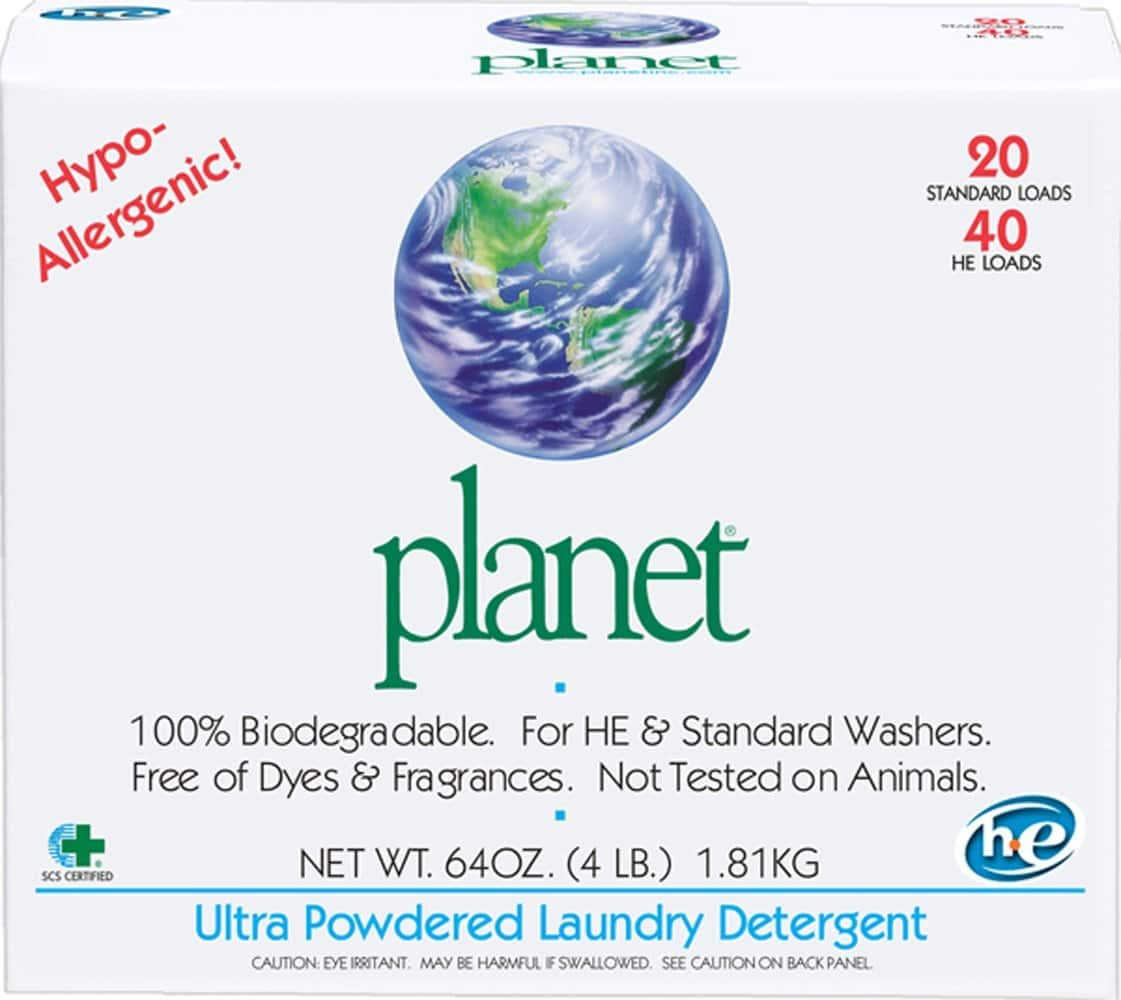 Planet Ultra Powdered Laundry Detergent - 10 Pack $23.39