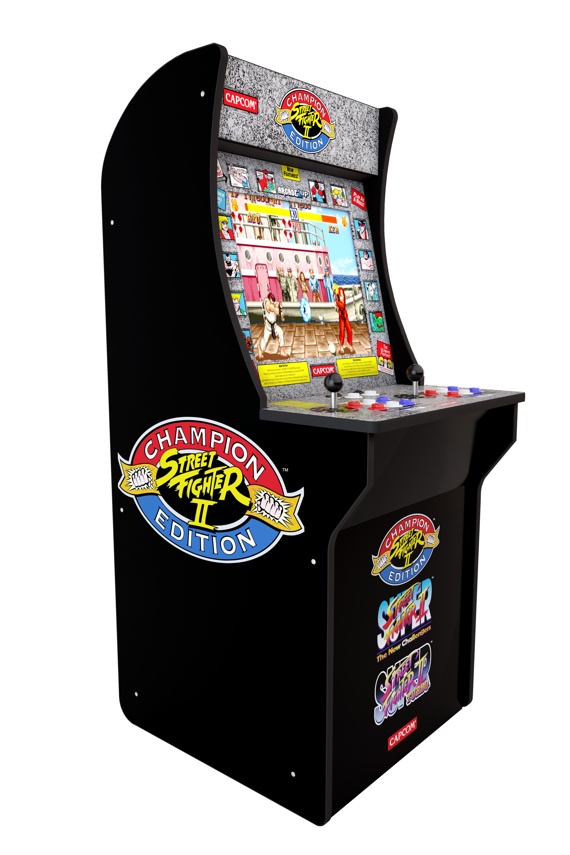 YMMV: Walmart B&M Arcade1up street fighter 2 $74