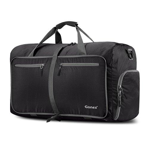 Gonex 60L Foldable Travel Duffle Bag Water & Tear Resistant 10 Color Choices $16.99 AMAZON
