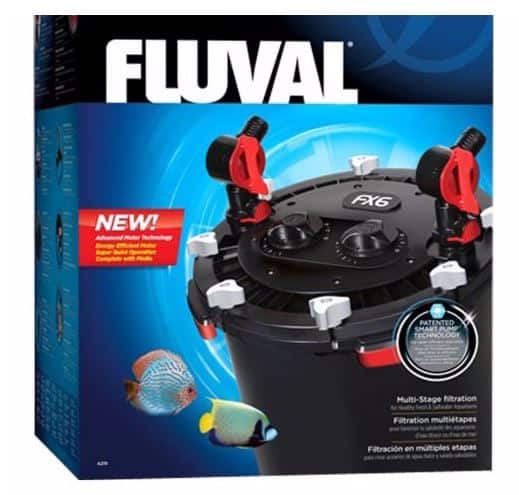Fluval fx6 aquarium cannister filter petsmart with for Petsmart fish filters