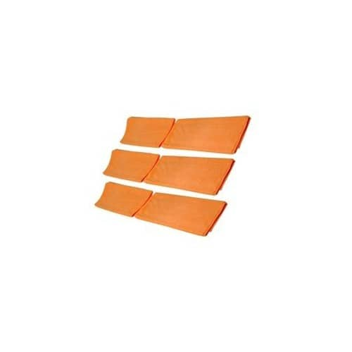 Chemical Guys Orange Banger Extra Thick Microfiber Towel (16.5 in. x 16.5 in.) (Pack of 6) Add-on or S&S $7.46