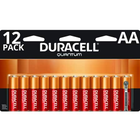 Duracell - Quantum AA and AAA Alkaline Batteries $3.50 (6 pack) $5 (12 pack)