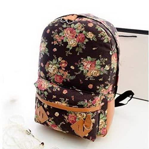 Women Canvas Travel Casual 14inch Daypack ( various colors )- $9.99 @Amazon